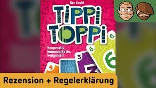Tippi Toppi - Brettspiel - Review und Regelerklärung