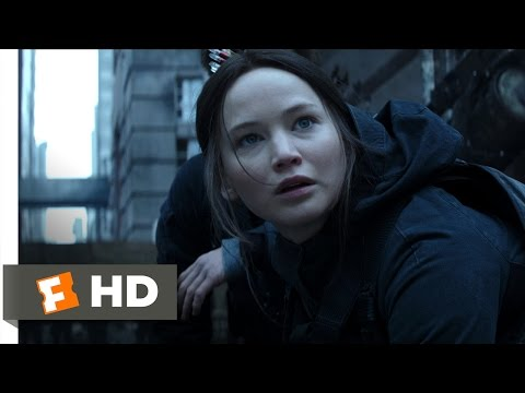 The Hunger Games: Mockingjay - Part 2 (3/10) Movie CLIP - The Black Ooze (2015) HD