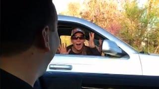NASCAR driver stuns fan with surprise drive-by - dooclip.me