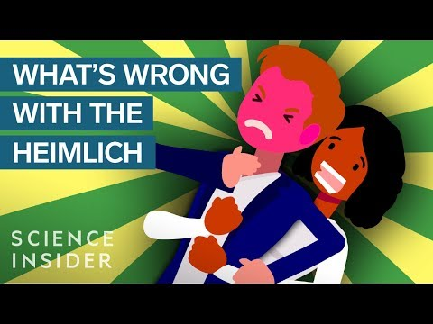 Why The Heimlich Is Not The Best Way To Save A Choking Victim