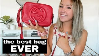 My Most Used Bag | GUCCI SOHO DISCO REVIEW & WHAT FITS