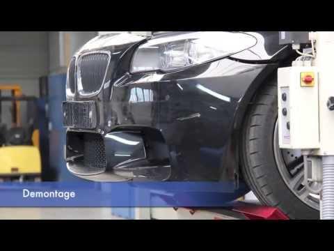 BMW M5 actieve voetganger bescherming