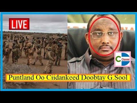 WAR DEG DEG AH; Somaliland Oo Ku Dhawaaqdey In Puntland ay Dagaal Gaadmo ah La Damacsan Tahay  Sool