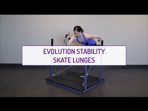 Evolution Stability Skate Lunges
