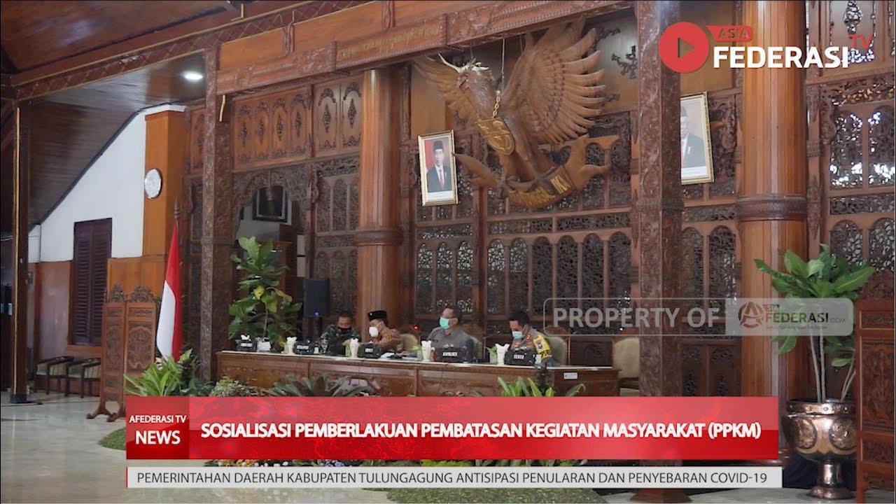 Tulungagung Tak Masuk Daftar PPKM Provinsi Jatim, Bupati Tulungagung Tetap Menerapkan