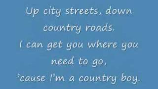 """Country Boy"" by Alan Jackson LYRICS."