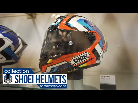 Shoei helmet collection 2018   FortaMoto.com