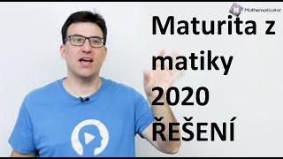 Maturita z matiky - řešení didaktického testu - jaro 2020