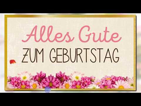 Happy birthday  german version