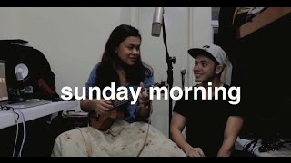 Sunday Morning - Maroon 5 (one take ukulele cover) Reneé Dominique x Dave Lamar