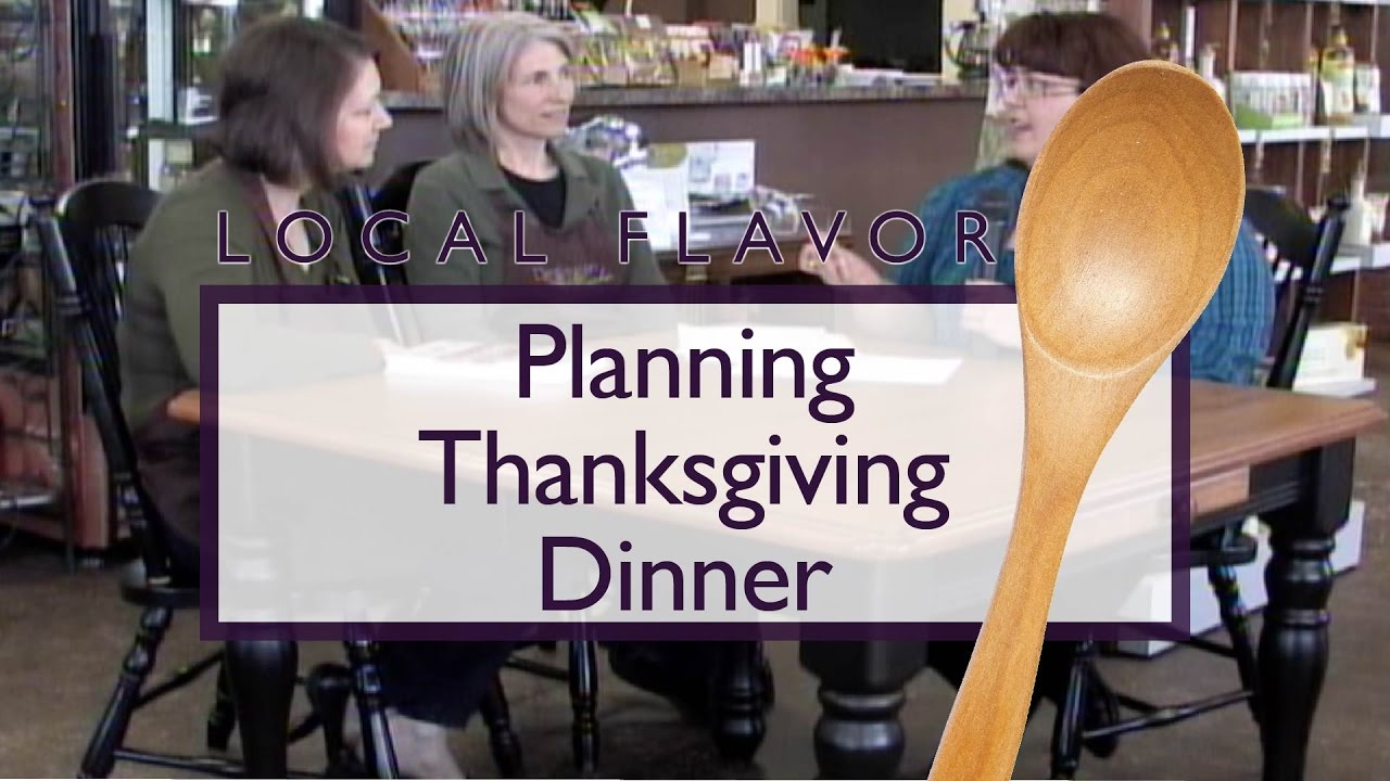 Planning Thanksgiving Dinner