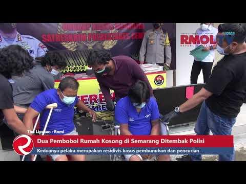 Dua Pembobol Rumah Kosong di Semarang Ditembak Polisi