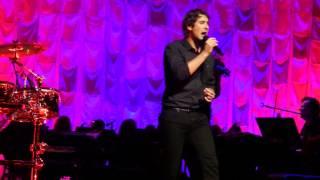 """Josh Groban """"Voce Existe Em Mim"""" Live @ CMAC 8/22/2014"""
