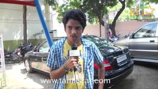 Sriram at Vajram Movie Shooting Spot
