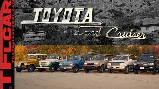 I Drive EVERY Toyota Land Cruiser Ever Sold In The U.S. To Find Out Which Is Best!