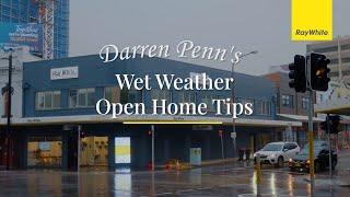 Open Home Wet Weather Tips
