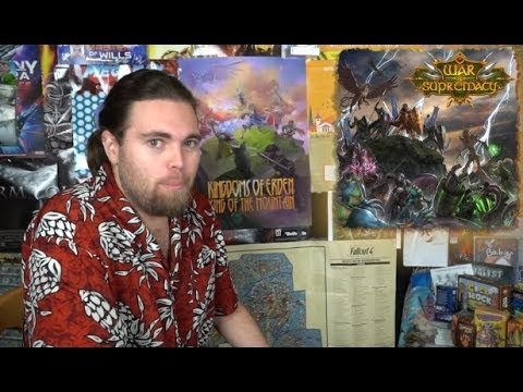 War of Supremacy - Board Game Review
