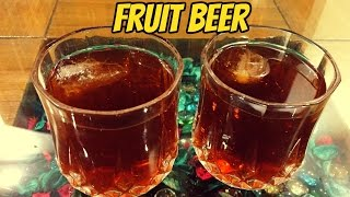 Fruit Beer-Non Alcoholic | Easy Fruit Beer Recipe | Indo-Chinese Drink |