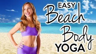 Beach Body Yoga For Beginners, Easy 20 Minute Workout for Body Toning and Weight Loss by PsycheTruth