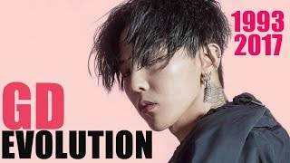 G-DRAGON EVOLUTION! (1993-2017)