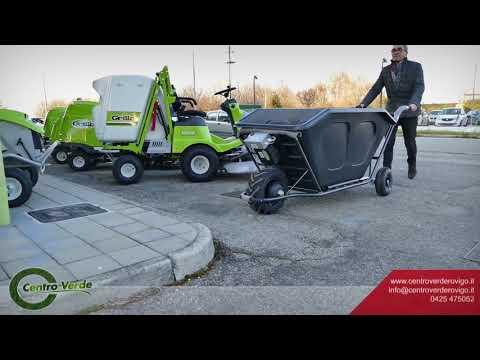 Scopri il nuovo carrello elettrico Bat Cargo | Portata fino a 200 kg