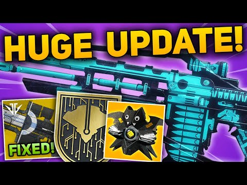 HUGE OCTOBER UPDATE - Izanagi's Burden Fix, Exotic Quest & SWAT Mode, Titan Nerfs (Destiny 2 News)