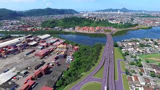 Nova Entrada de Santos: conheça a nova Avenida Beira Rio