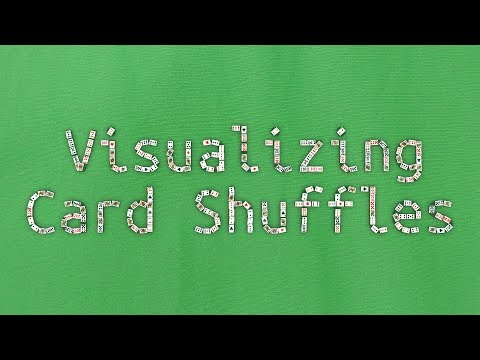 Visualizing what happens when you shuffle a deck of cards