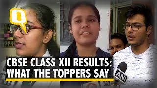 CBSE Board Class 12 Results: Here's What The Toppers Have To Say | The Quint