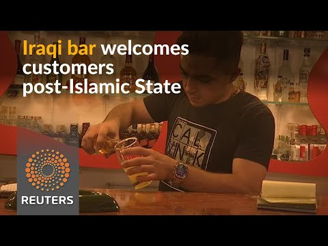 Iraqi bar reopens after Islamic State defeat