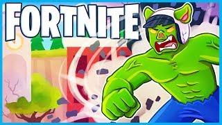 *NEW* HILARIOUS HULK GLITCH in Fortnite: Battle Royale! (Fortnite Funny Moments & Fails)