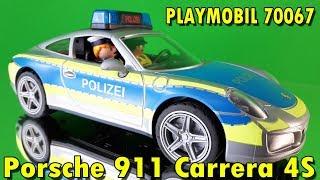 PLAYMOBIL 70067 POLIZEI PORSCHE 911 CARRERA 4S [Zusammenbau | Vorstellung]