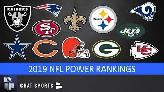 2019 NFL Power Rankings: All 32 NFL Teams From Worst To First