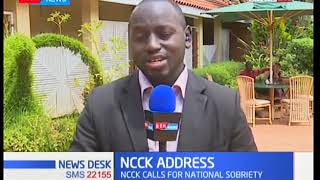 The NCCK calls on government and opposition to dialogue
