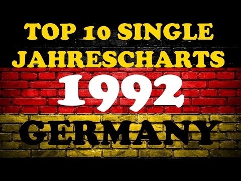 TOP 10 Single Jahrescharts Deutschland 1992 | Year-End Single Charts Germany | ChartExpress