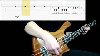 Megadeth   Peace Sells (Bass Cover) (Play Along Tabs In Video)