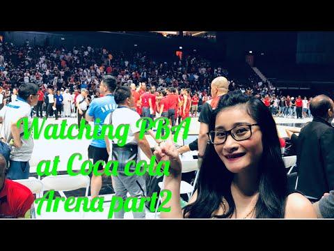 #PBA BASKETBALL sanmiguel vs nlex at coca cola arena dubai#