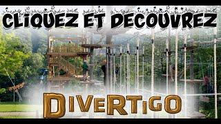 Divertigo Bromont - Hébertisme aérien - tyroliennes et jeux