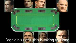 Hitler&Company play poker