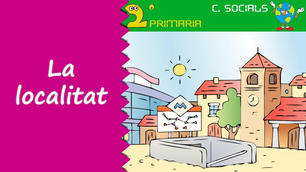 Ciències Socials. 2n Primaria. Tema 1. La localitat. Edificis, serveis i organització