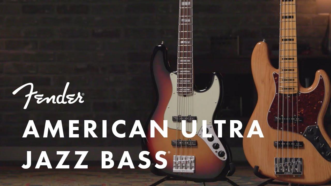 Fender AMERICAN ULTRA(フェンダー アメリカン ウルトラ) JAZZ BASS