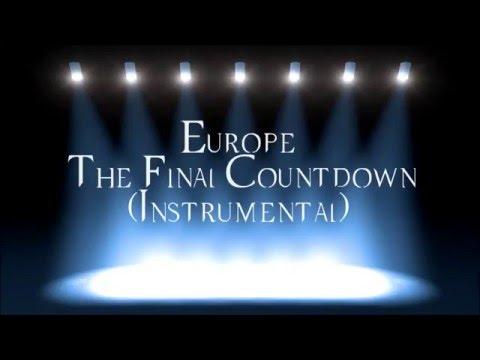 Europe   The Final Countdown Instrumental