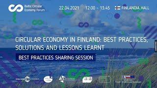 Circular Economy in Finland: best practices