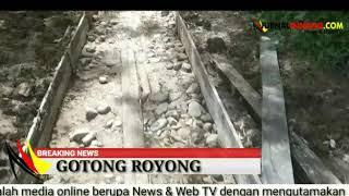 Gotong Royong di Kubang Landai