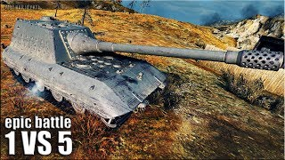 ЗАЖАЛИ ЗВЕРЮГУ!!! Jagdpanzer E 100 🌟 медаль Колобанова 🌟 World of Tanks лучший бой на яге е 100