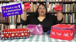 Temp-tations Bakeware Floral Lace Firework, Mini Loaf Pans, & Bread Dough ~ What's Up Wednesday