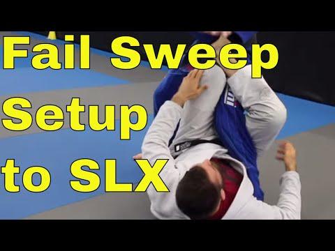 Failed Sweep To Single Leg X Guard Entry (So Easy a Dummy Can Do It)