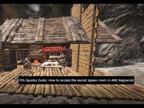 How to get to ARK Ragnarok, Secret Developer Room! (Patched