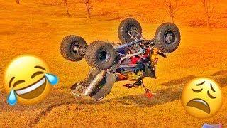 We ARRIVED! EASY QUAD Unload BACKFLIP CRASH!!