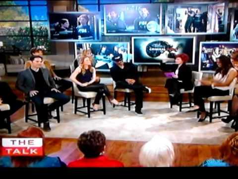 Criminal Minds Cast on The Talk Part 1